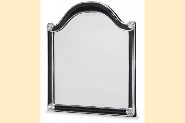 Aico Hollywood Swank Wall Mirror-Black