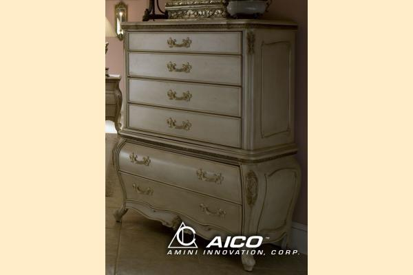 Aico Lavelle Blanc Drawer Chest
