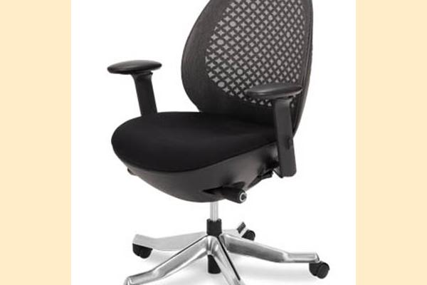 Aico Linq Office Chairs Charcoal Mesh Office Chair