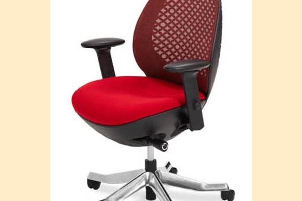 Aico Linq Office Chairs Red Mesh Office Chair