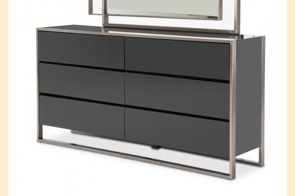 Aico Metro Lights Metal Dresser