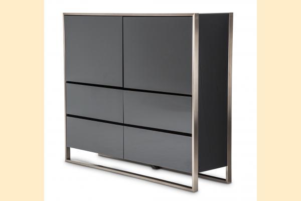 Aico Metro Lights Metal Storage Cabinet