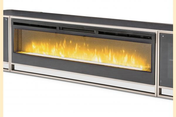Aico Metro Lights TV Console/Fireplace w/Insert