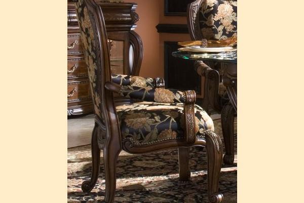 ... Aico Oppulente Sienna Spice Arm Chair ...