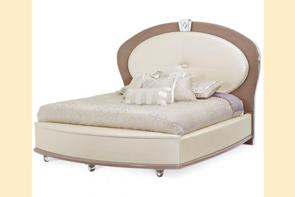 Aico Overture Bedroom Cal-King Upholstered Bed