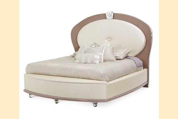 Aico Overture Bedroom King Upholstered Bed