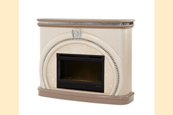 Aico Overture Fireplace Fireplace w/ Electric Firebox Insert