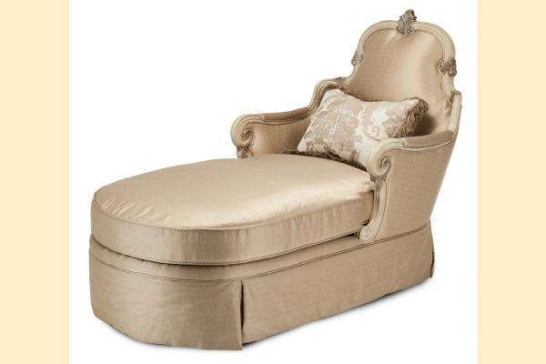Aico Platine de Royale Wood Trim Chaise Grp 1 Opt 1