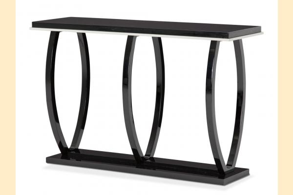 Aico Sky Tower-Black Ice Console Table