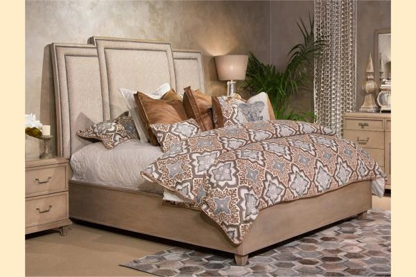 Aico Tangier Coast Cal-King Panel Bed