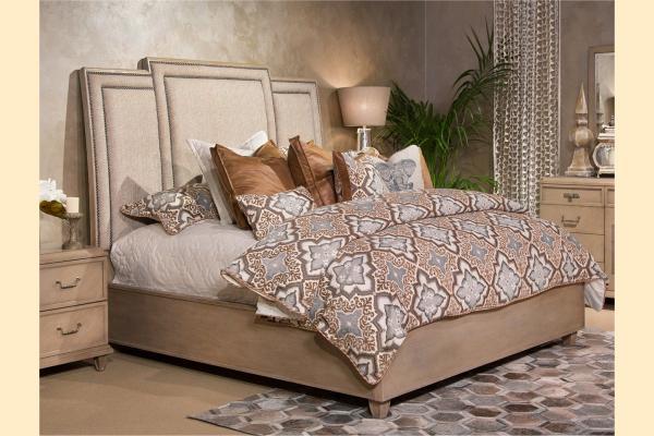 Aico Tangier Coast Queen Panel Bed