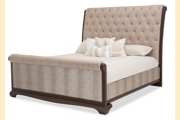 Aico Valise King Upholstered Bed