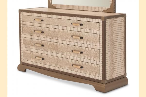 Aico Valise Upholstered Dresser