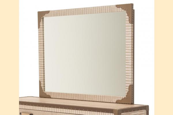 Aico Valise Upholstered Wall Mirror
