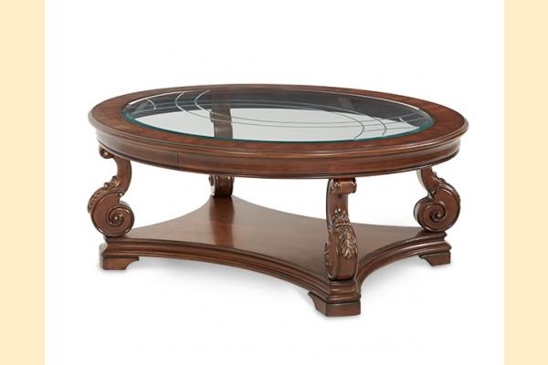 Aico Victoria Palace Occasional Oval Cocktail Table