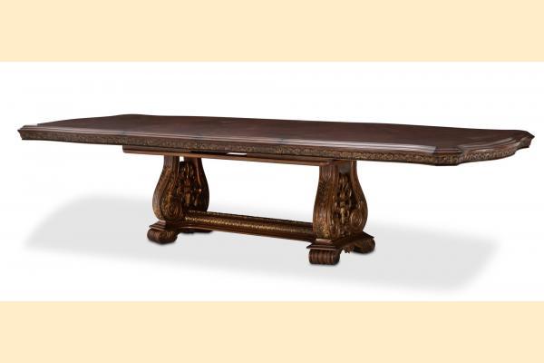 Aico Villa di Como-Portobello Rectangular Dining Table Includes Two 23.75