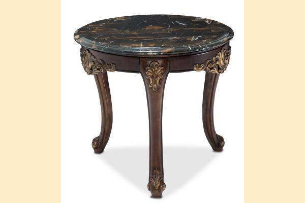 Aico Villa di Como-Portobello Marble End Table