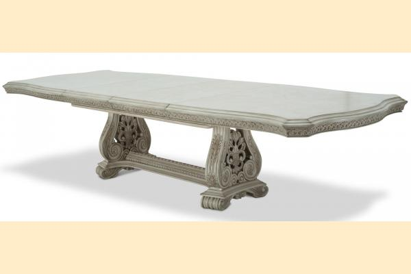 Aico Villa di Como Rectangular Dining Table Includes Two 23.75