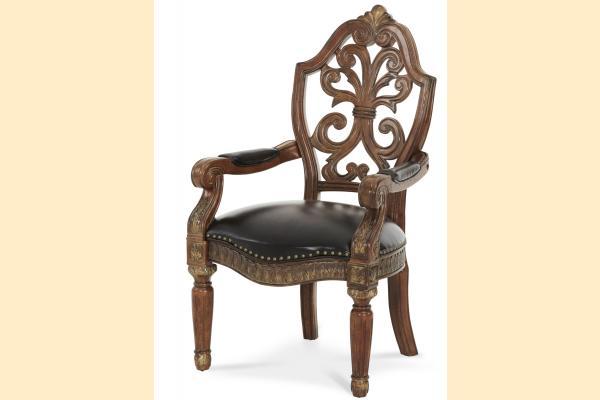 Aico Villa Valencia Pull-up Desk Arm Chair