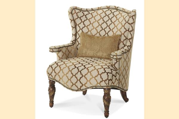 Aico Villa Valencia Wing Chair Opt 1