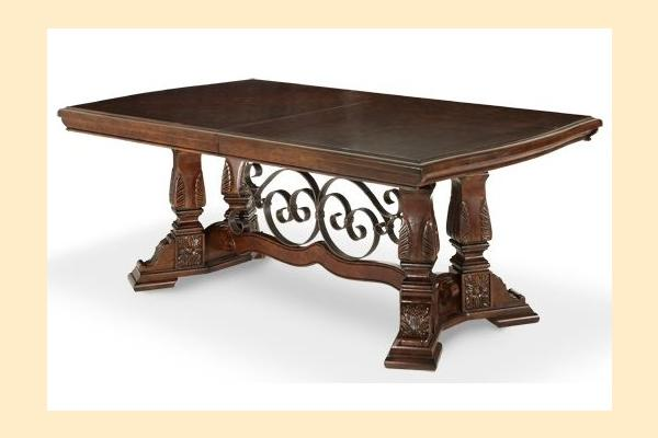Aico Windsor Court Rectangular Dining Table Includes Two 20