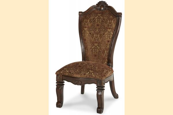 Aico Windsor Court Fabric Back Side Chair