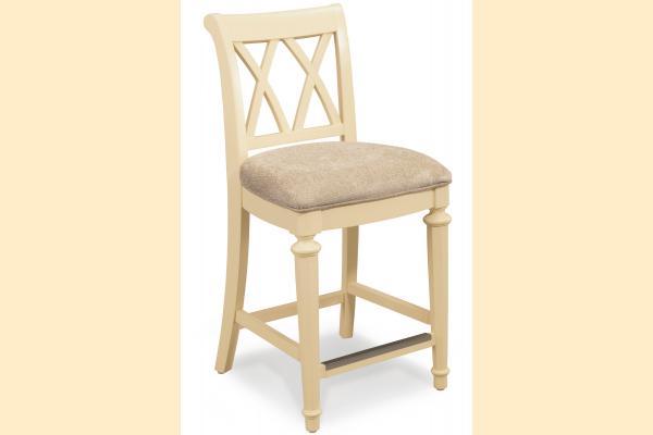 American Drew Camden-Antique White Gathering Height Chair