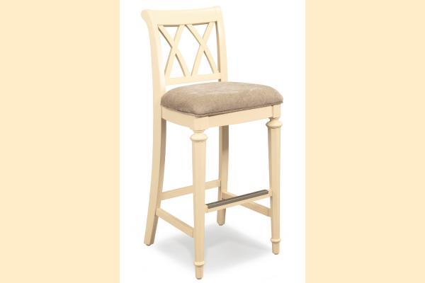 American Drew Camden-Antique White Bar Height Chair