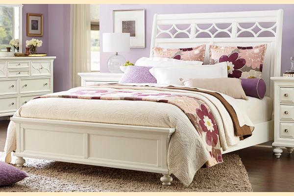 American Drew Lynn Haven Cal-King Sleigh Bed