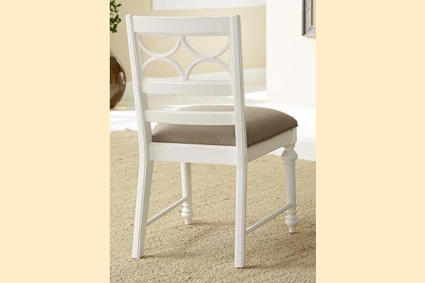American Drew Lynn Haven Fret Work Side Chair