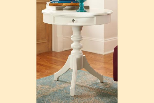 American Drew Lynn Haven Round Accent Table