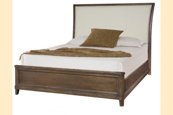 American Drew Park Studio Cal-King Upholstered Sleigh Bed