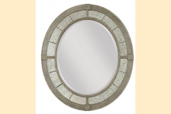 American Drew Savona Rococo Oval Mirror