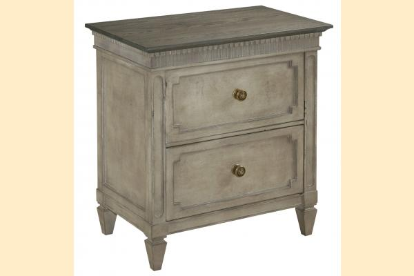 American Drew Savona Ax Two Drawer Nightstand