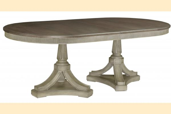 American Drew Savona Friedrick Dining Table w/ 2 20 Inch Leaves