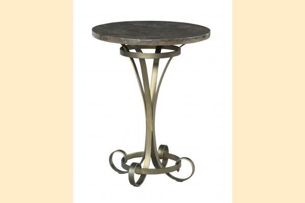 American Drew Savona Louise Round Lamp Table