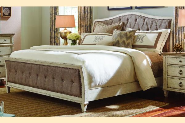 American Drew Southbury Cal-King Upholstered Bed