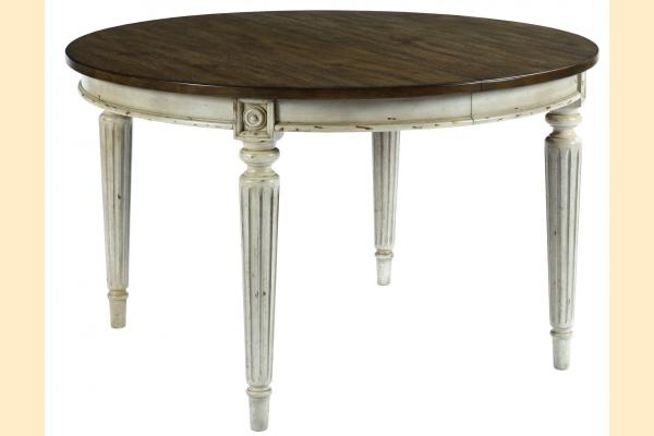 American Drew Southbury Round Dining Table w/ 2 20