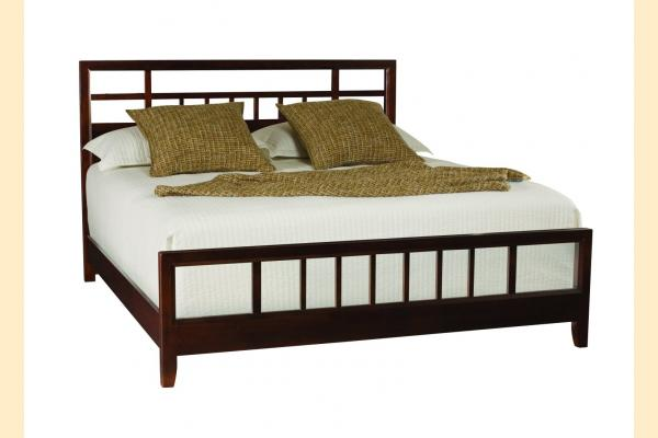 American Drew Tribecca King Slat Bed