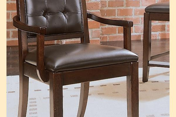 American Drew Tribecca Leather Arm Chair