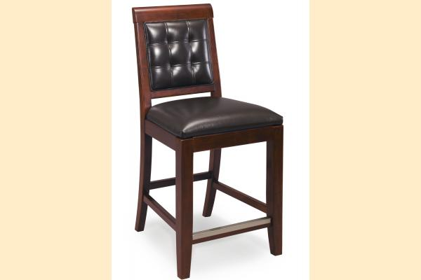 American Drew Tribecca Leather Counter Stool