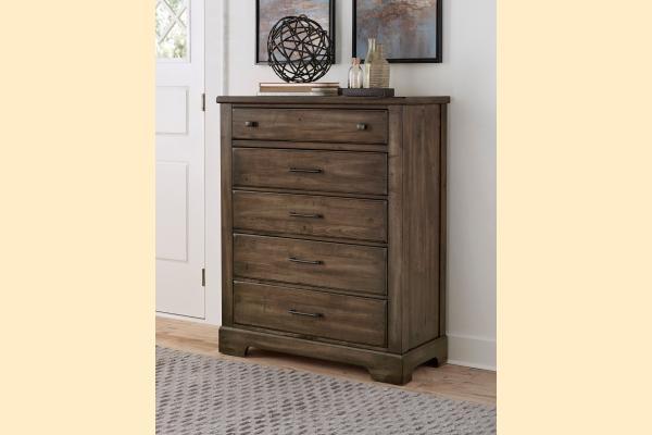 VB Artisan & Post  Cool Rustic-Mink Drawer Chest