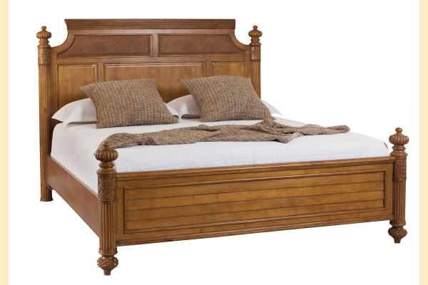 American Drew Grand Isle Cal-King Island Bed
