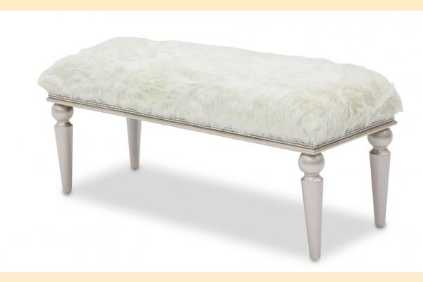 Aico Glimmering Heights Non-Storage Bed Bench