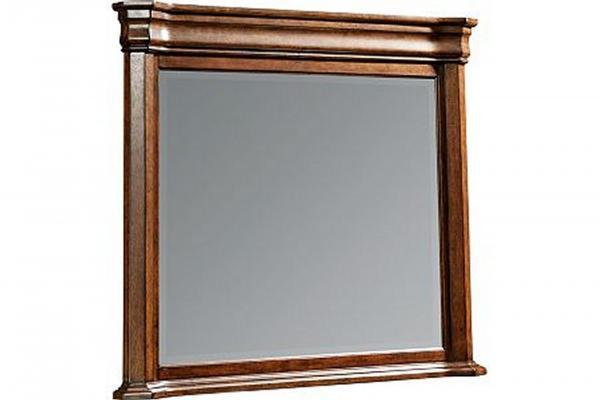 Broyhill Aryell-Cherry Landscape Dresser Mirror
