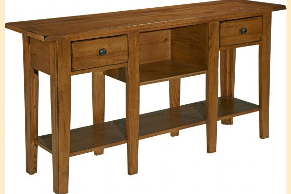 Broyhill Attic Original Oak Occasional Tables Sofa Table