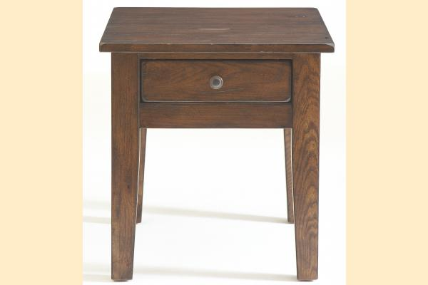 Broyhill Attic Rustic Oak Occasional Tables End Table