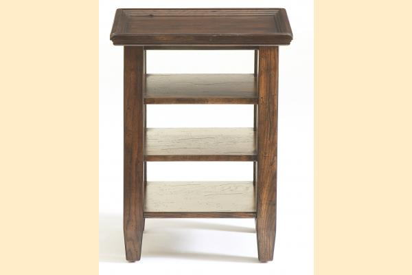 Broyhill Attic Rustic Oak Occasional Tables Accessory Table
