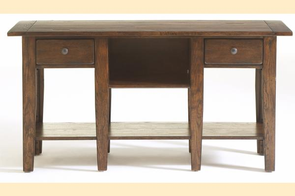 Broyhill Attic Rustic Oak Occasional Tables Sofa Table