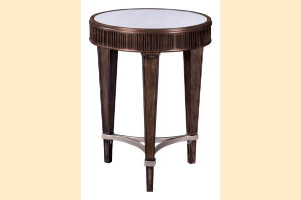 Broyhill Cashmera Round Chairside Table
